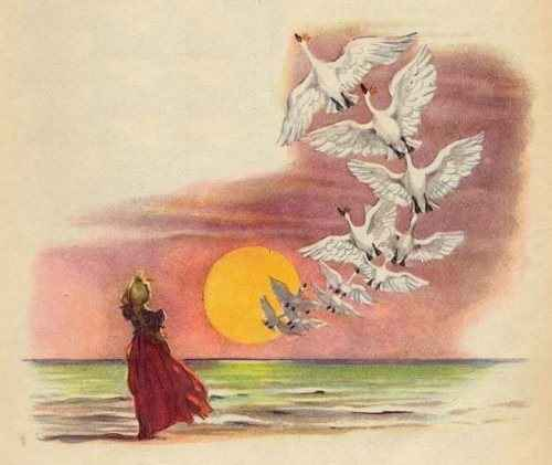 Дикие Лебеди — Wild Swans. Х.К. Андерсен