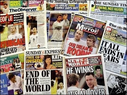 Newspapers, magazines