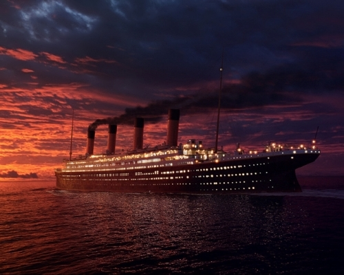 The Titanic – lost and found