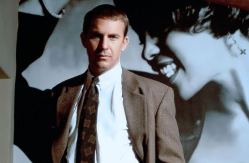 Kevin Costner in the film The Bodyguard
