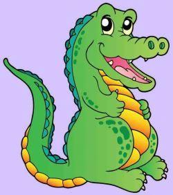 Crocodile as a pet
