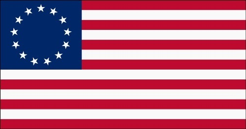 first usa flag