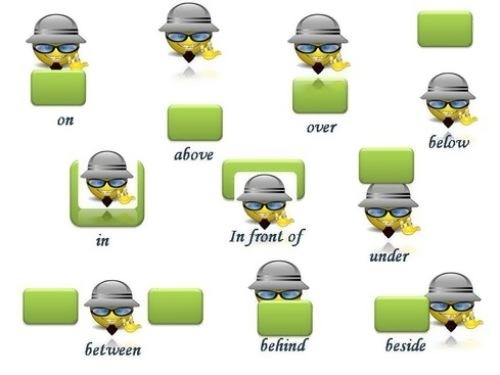 Prepositions - предлоги