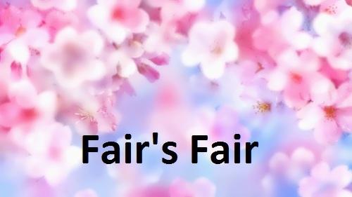 Fair's Fair by Jane Speed