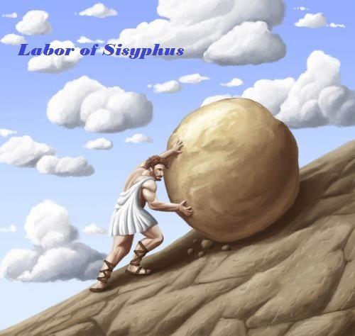Labor of Sisyphus