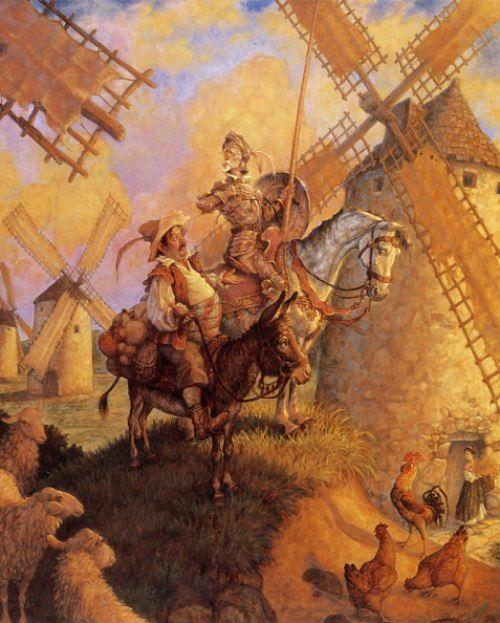 Scott Gustafson - Don Quixote