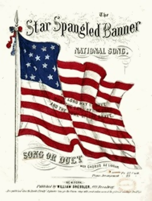 Flag Song United Statea Kids