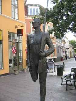 Steadfast Tin Soldier in Copenhagen