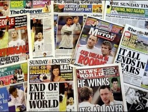 Newspapers, magazines