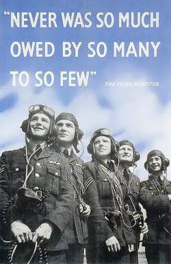 Never was so much owed by so many to so few