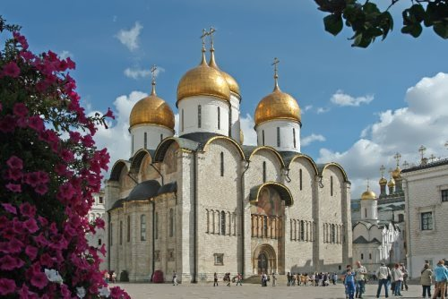 Kremlin Uspensky Cathedral