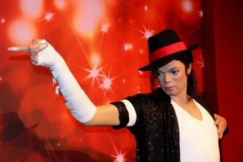 Michael Jackson wax model