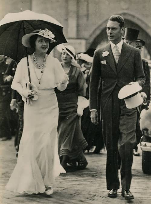 George VI and Elizabeth