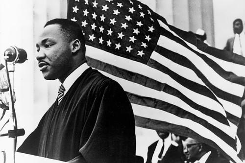 Black Baptist pastor - I have a dream