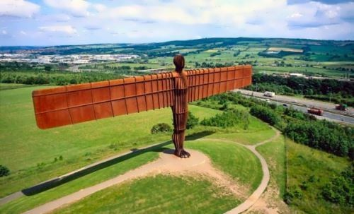 Angel Of The North by Antony Gormley