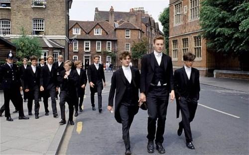 Eton students