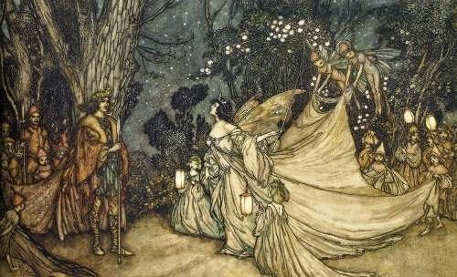 The quarrel between Titania and Oberon