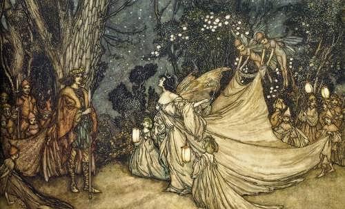 The quarrel between Titania and Oberon