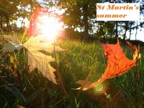 St Martin's summer