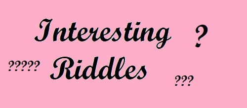 Interesting riddles in English